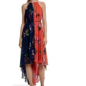 NWT Ted Baker London Hi/Low Maxi Dress